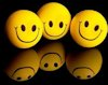 smiley-balls-with-black-background 853908751